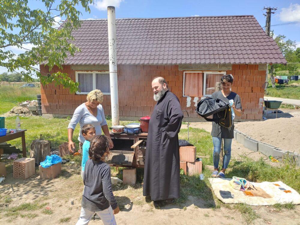 Casa din Socond afectata de inundatii, reconstruita (Foto)