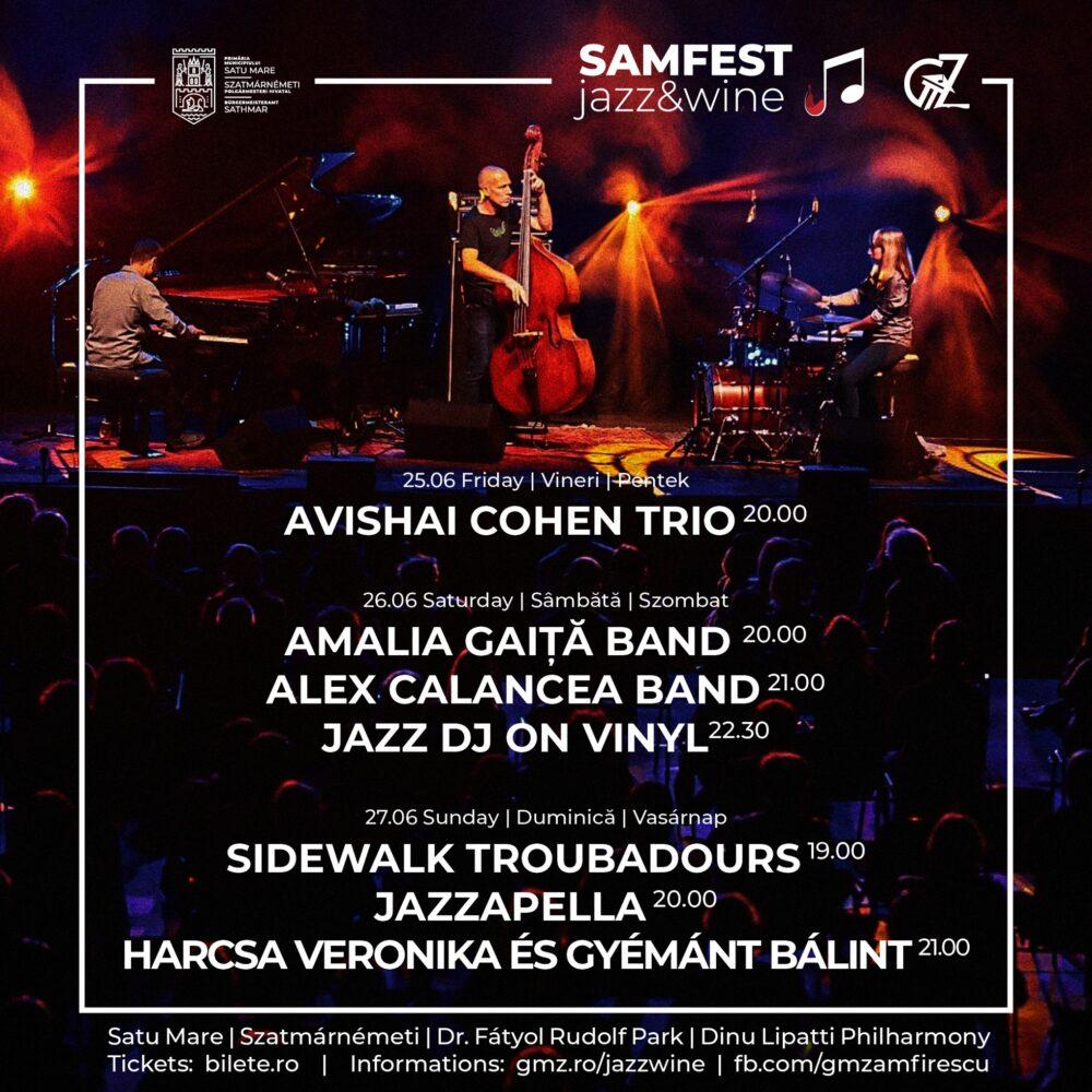 Satu Mare devine pentru un week-end capitala jazz-ului în România