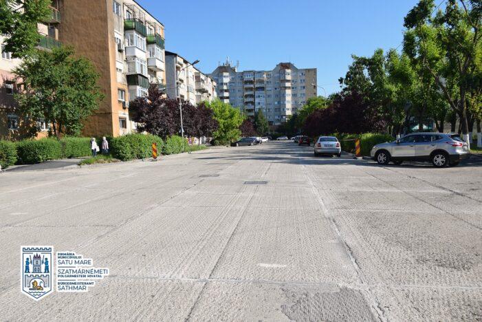 Se modernizeaza strada Ioan Vidu (Foto)