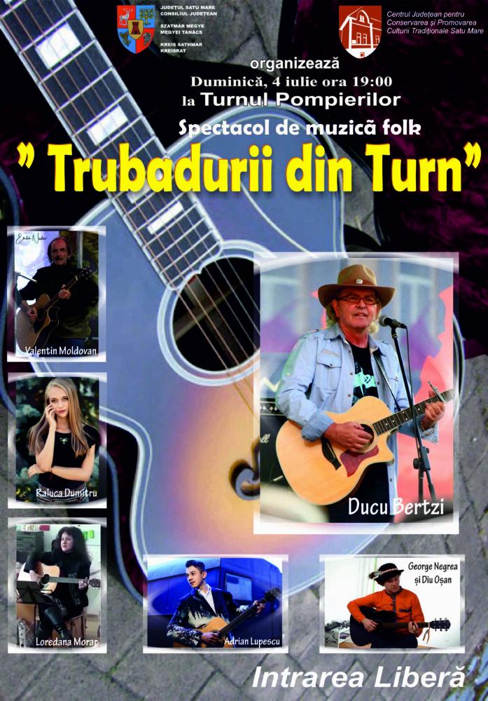 Concert folk la Satu Mare. Vezi când