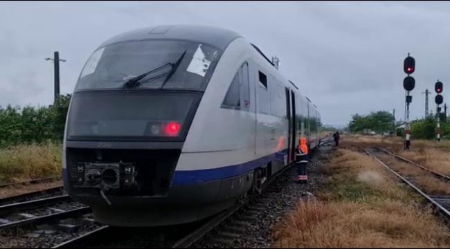 Panica mare. Un tren a rămas fără frâne