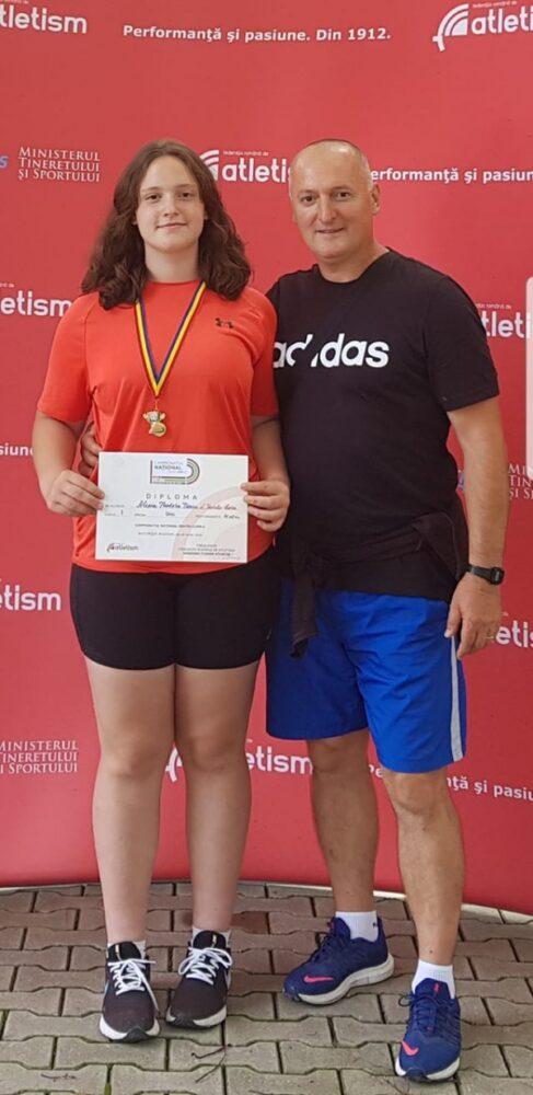 Alexia Turcu, dublă campioană națională