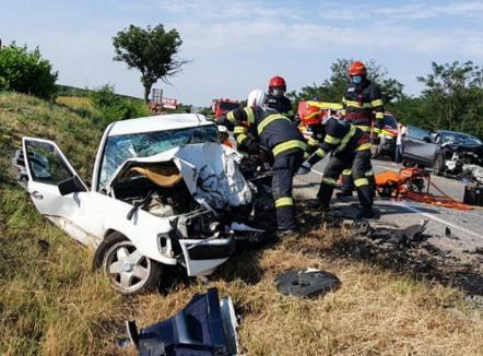 Cum s-a produs tragedia de pe DN 19 Oradea – Satu Mare ? (Foto)