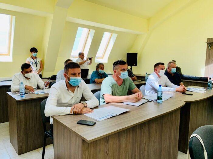 """Sergiu Silaghi: """"Aducem apa și canalizarea în comuna Santău"""""""