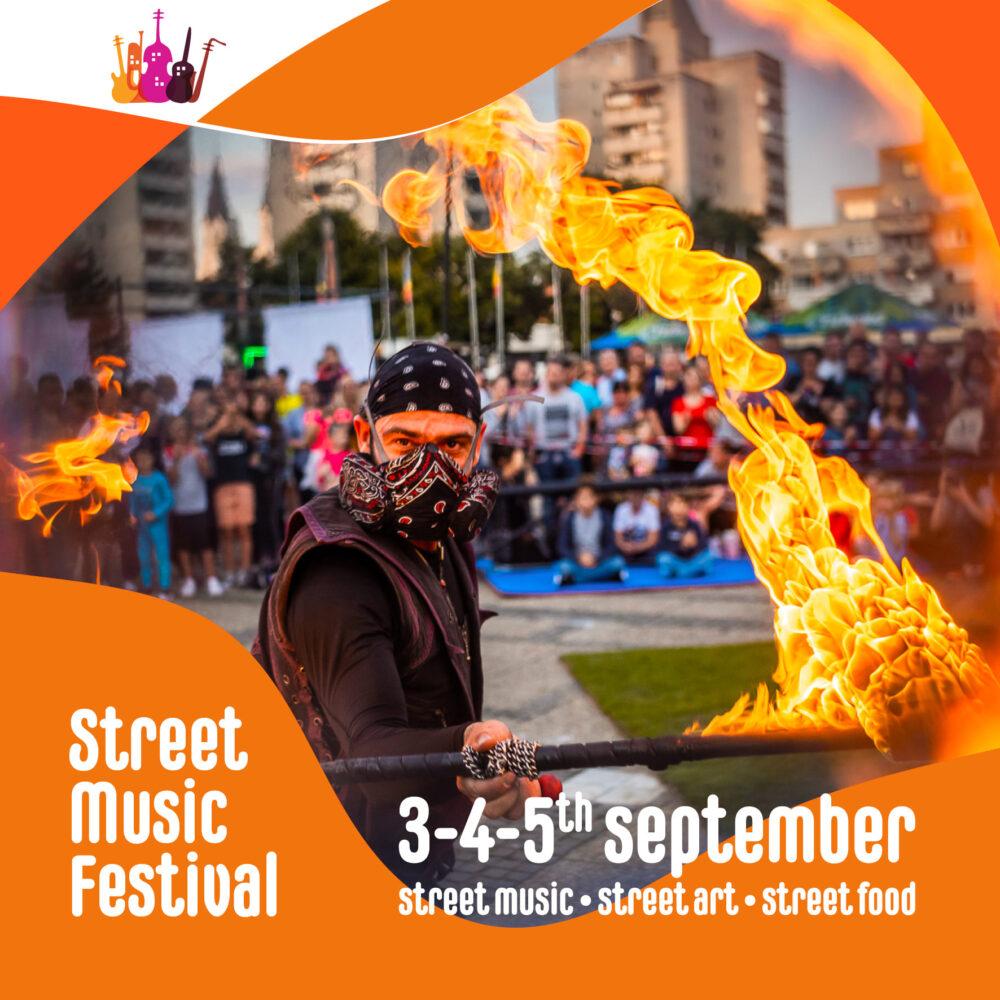 Festivalul Muzicii de Strada, in primele zile din septembrie, la Satu Mare