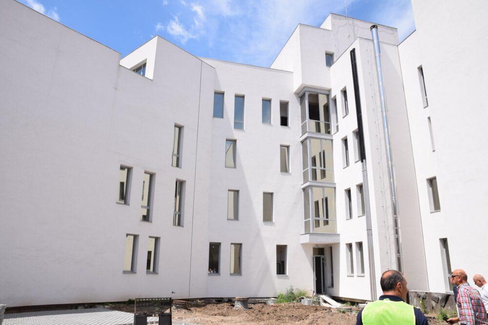 Stadiul lucrarilor la noua cladire a Prefecturii (Foto)