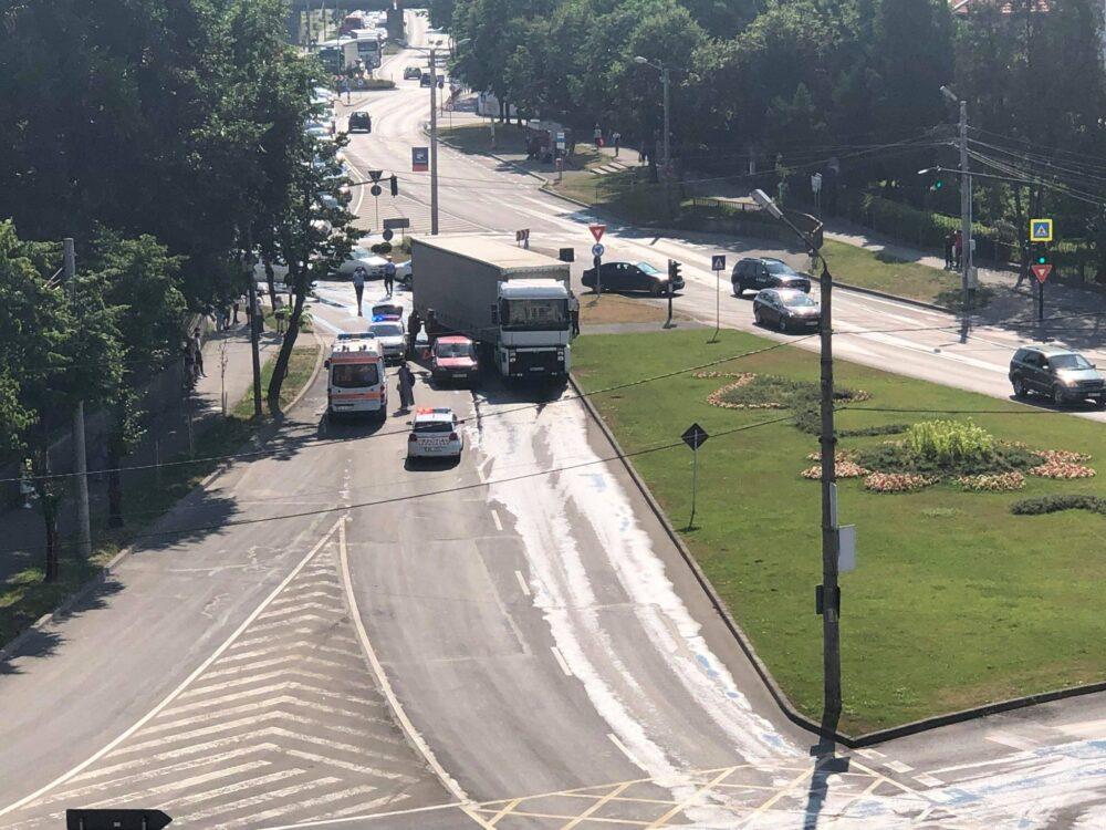 Detalii despre accidentul din Piata Romana ? (Foto)