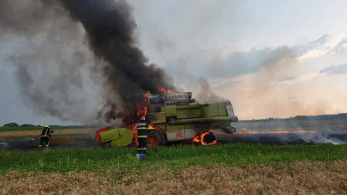 O combina a luat foc, intre Botiz si Ciuperceni (Foto)