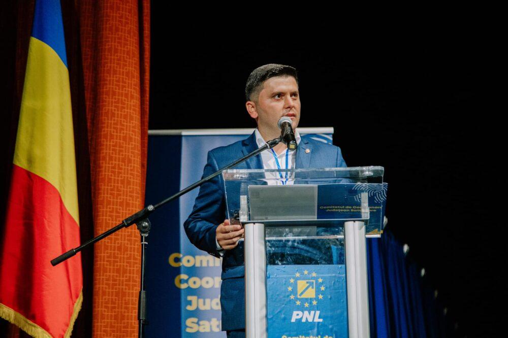 Deputatul Adrian Cozma a castigat alegerile pentru presedintia PNL Satu Mare (Foto)
