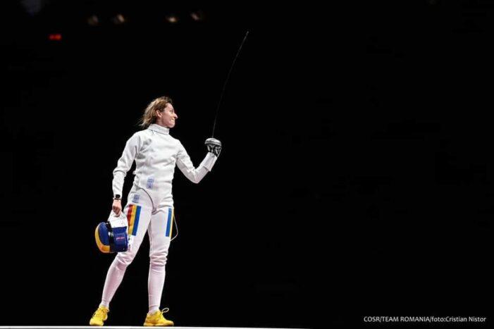 JO de la Tokyo: Ana Maria Popescu obține argint la spadă