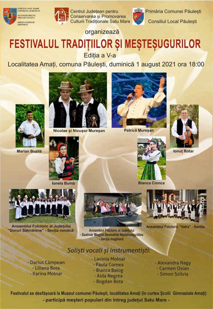 Festivalul Tradițiilor și Meșteșugurilor din Amați, la a V-a ediție