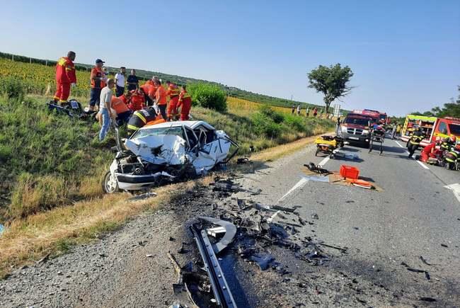 Starea victimelor accidentului mortal de pe DN 19 Oradea – Satu Mare (Foto)