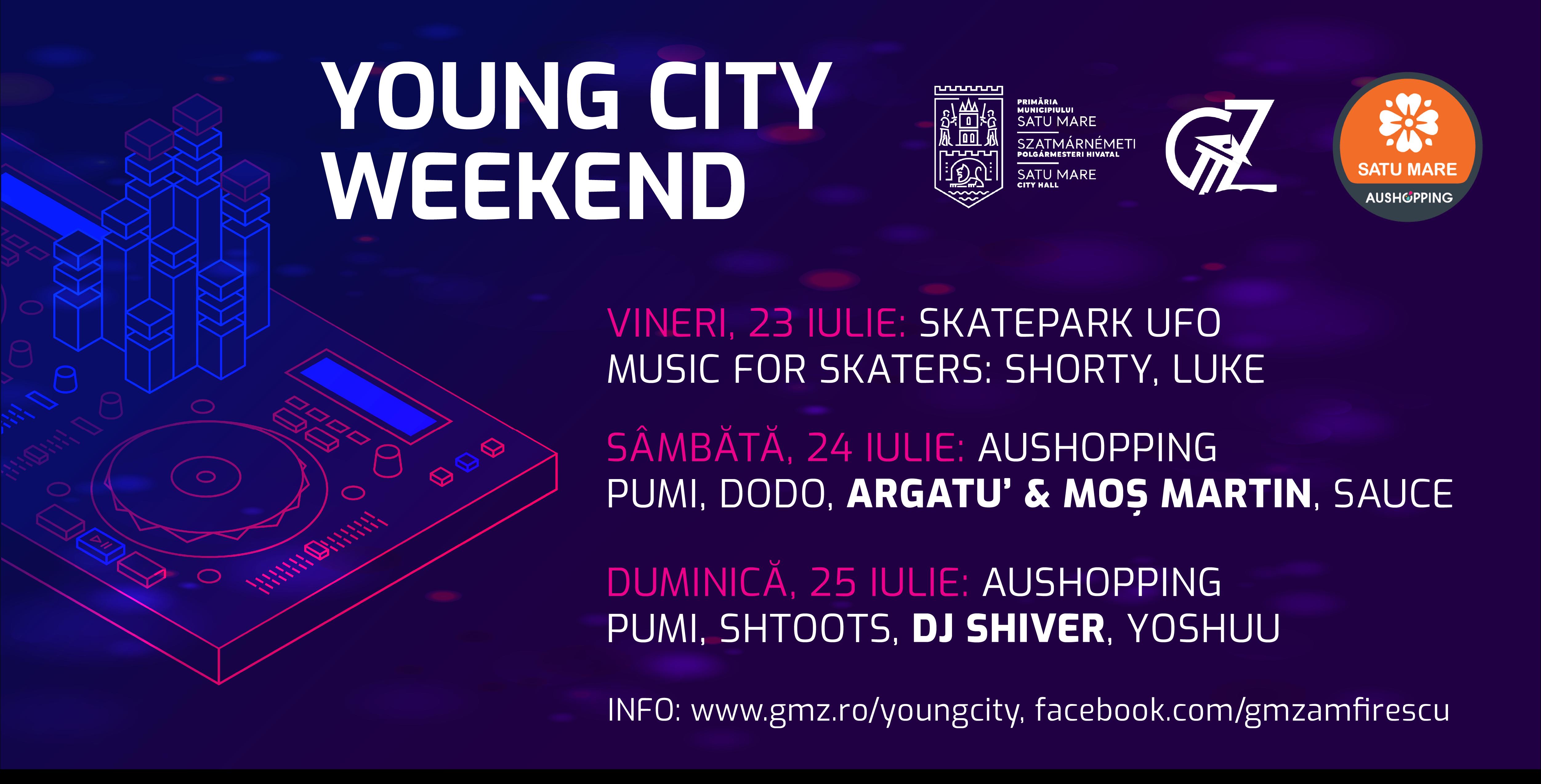Young City Weekend aduce atmosfera festivalurilor de tineret în oraș !