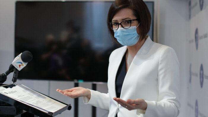 Ioana Mihăilă: Interzicerea persoanelor nevaccinate în week-end în spaţiile publice neesenţiale