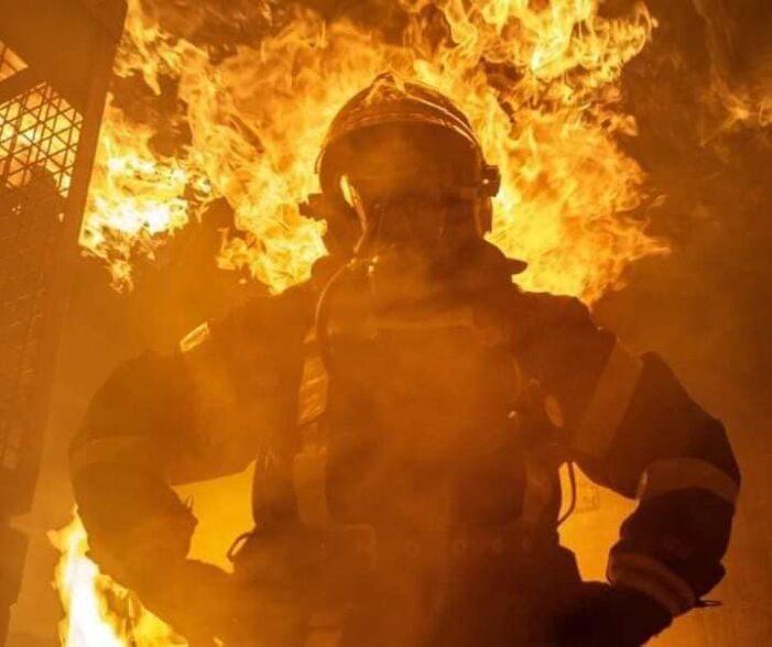 Incendiu la un grajd din Săuca