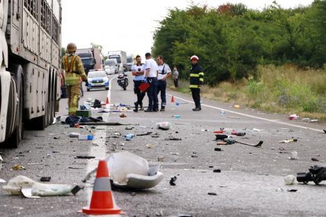 Cum s-a intamplat tragedia de pe DN 19 Oradea – Carei ? Concluzia politistilor (Foto)