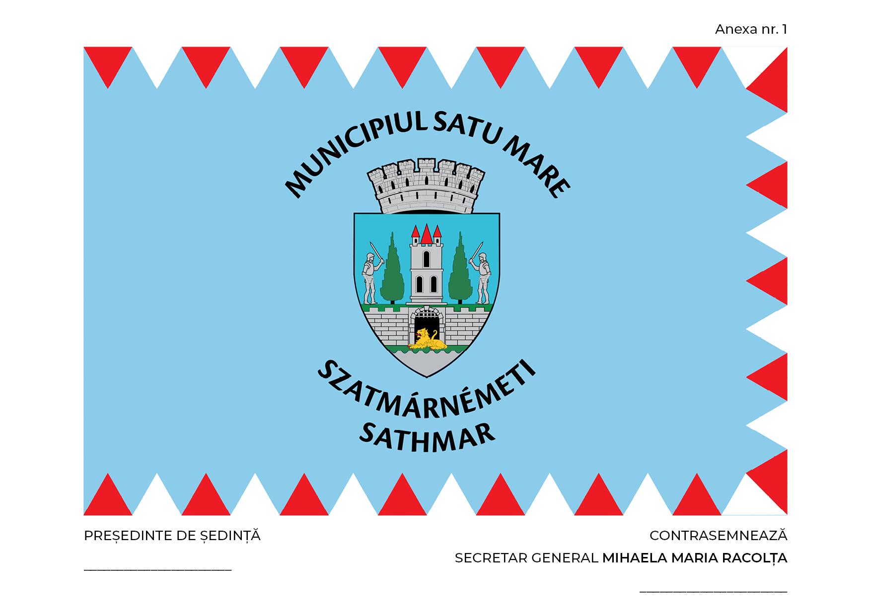 Dezbatere publica. Cum sa arate steagul municipiului Satu Mare ?