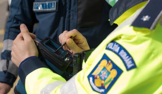 Vitezoman din Satu Mare, prins de politistii bistriteni