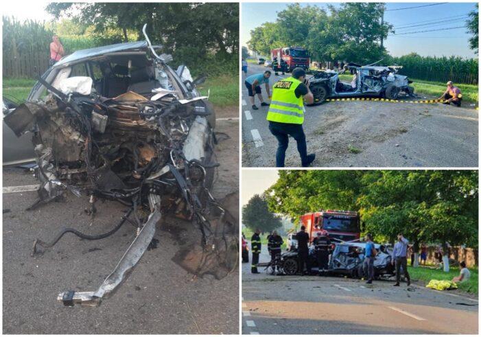 Accident cumplit in tara. Doi tineri au murit (Foto)