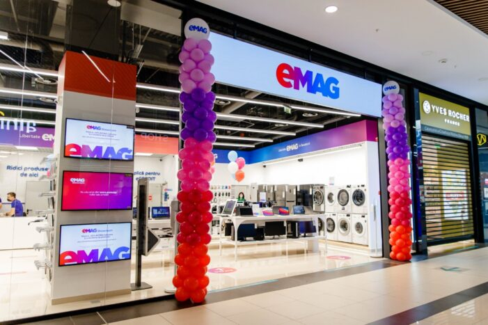 eMAG inaugurează primul showroom din Satu Mare (Foto)