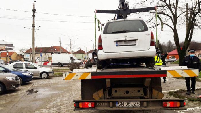 Patru masini vor fi ridicate de Primaria Satu Mare. Vezi lista