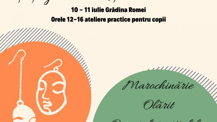 Ateliere mestesugaresti pentru copii, in Gradina Romei