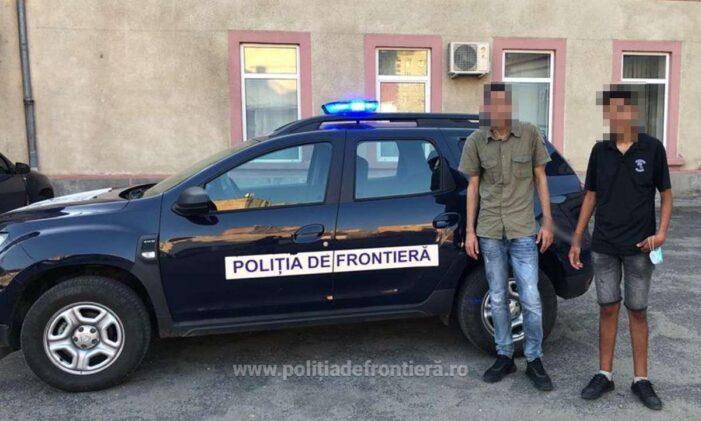 Migranti opriti la Petea. Vroiau sa ajunga in Italia (Foto)