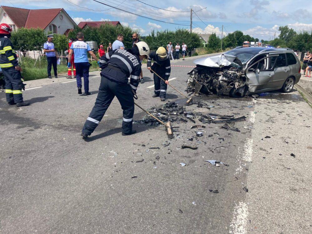 Terifiant ! O femeie insarcinata a murit intr-un accident teribil ! (Foto&video)