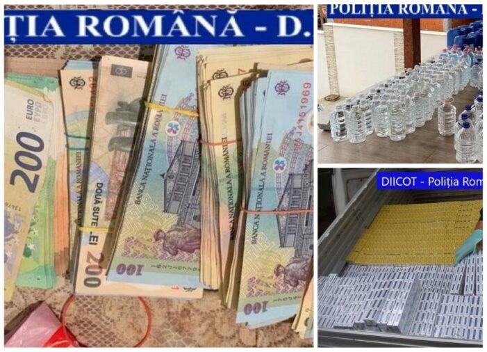 Grupare de contrabandisti, destructurata. 4 indivizi ridicati de mascati (Foto)