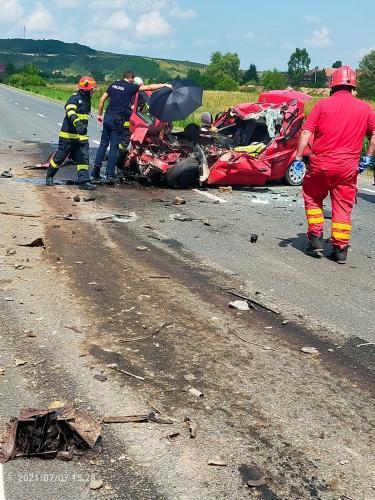 Sotia preotului mort in accidentul de pe DN 1F Satu Mare – Cluj Napoca are nevoie de sange