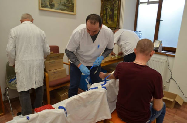 Campanie de donare de sange la Carei