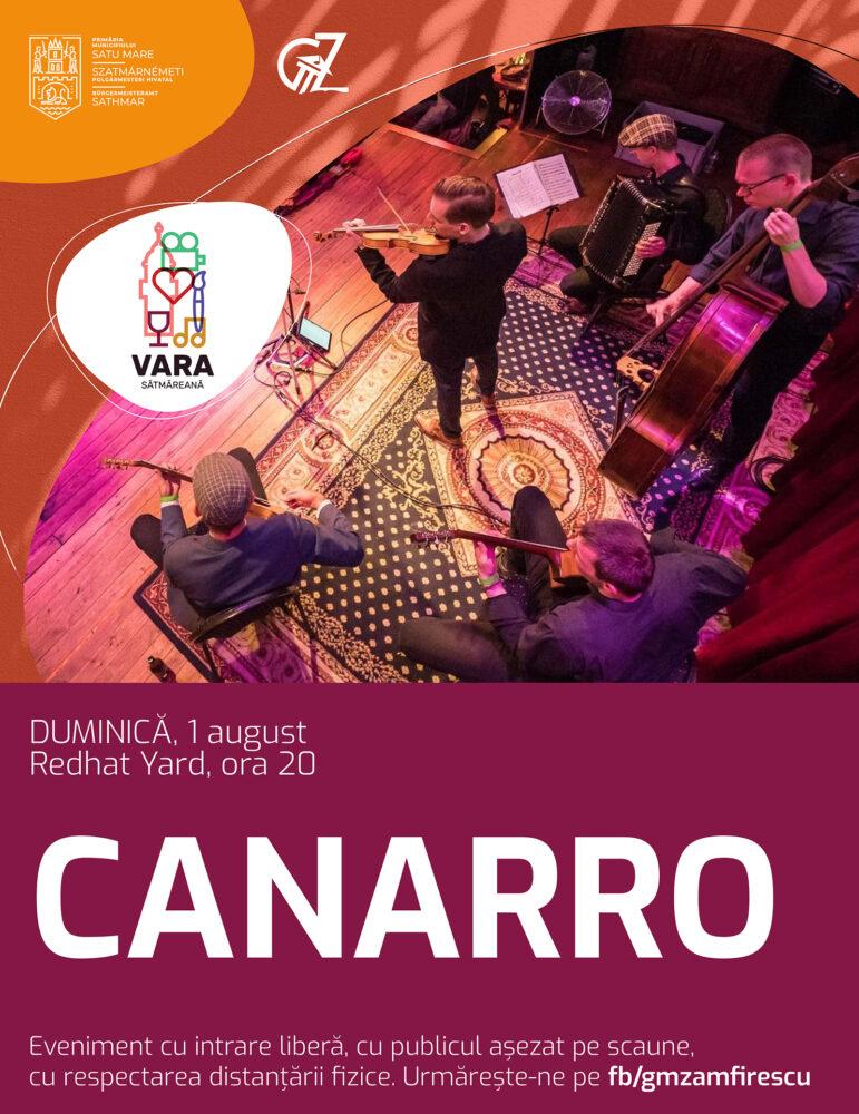 Trei concerte în week-end la Satu Mare