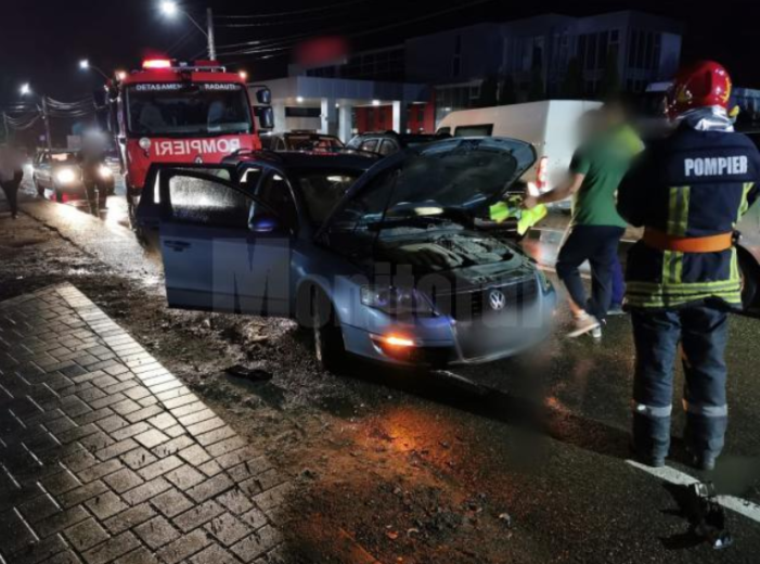 Familie din Satu Mare, victima unui accident in Suceava (Foto)