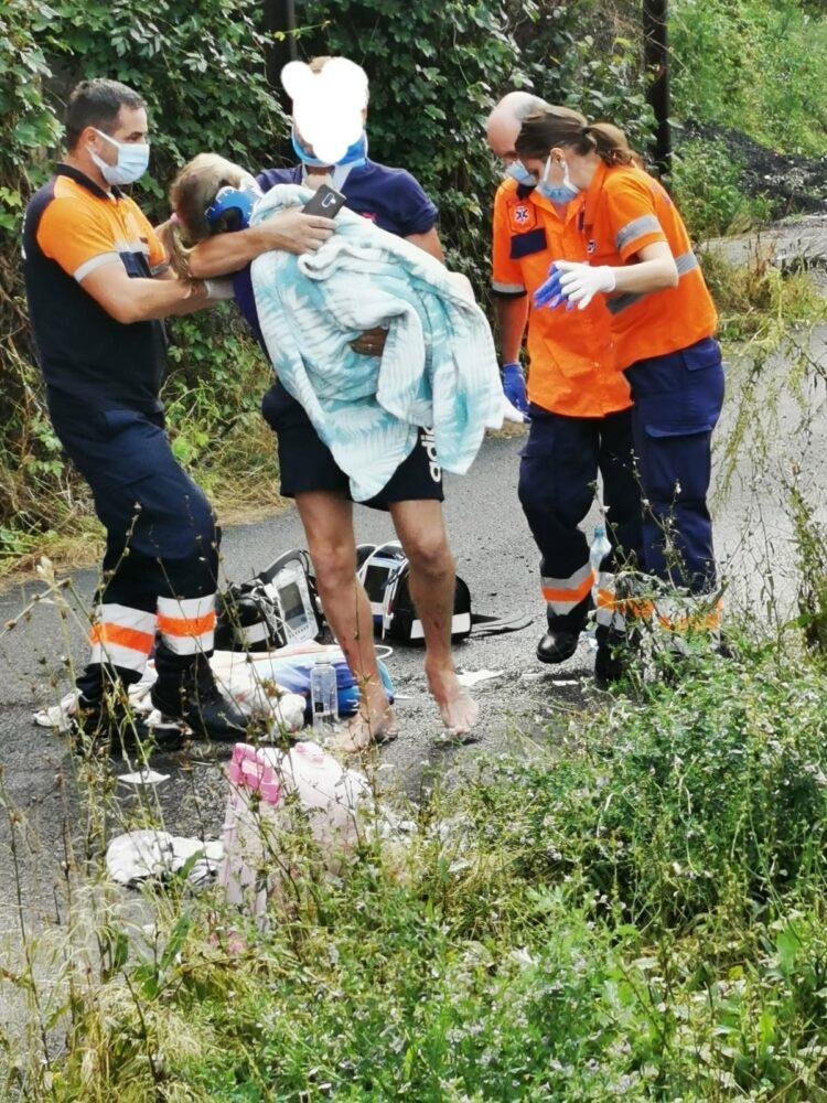 Antrenorul Olimpiei Satu Mare, implicat intr-un accident. Vezi detalii (Foto)