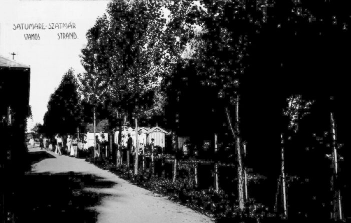 Cum arata strandul de pe Somes in 1940 ? (Foto)