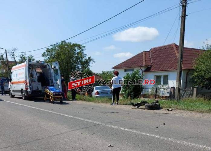 Satmarean implicat intr-un accident in Viile Apei. I s-a facut rau la volan ! (Foto)