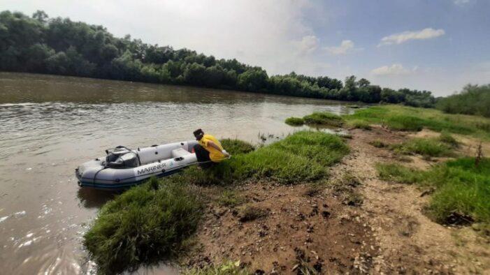 Din Baia Mare la Dunare … cu barca. A trecut granita prin Satu Mare
