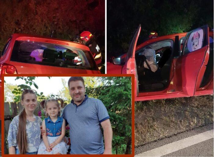 Accident mortal pe drumul Zalau – Satu Mare. O tânăra și-a îngropat familia (Foto)