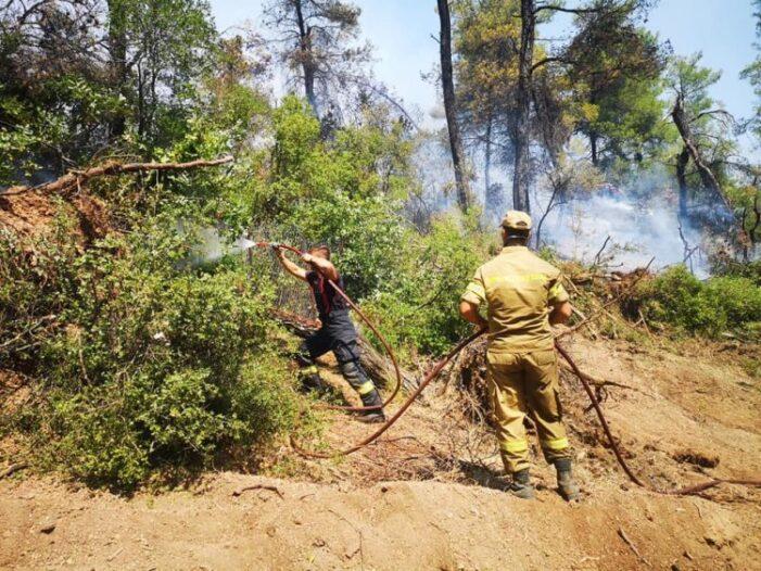 Pompierii romani laudati in presa straina (Foto)
