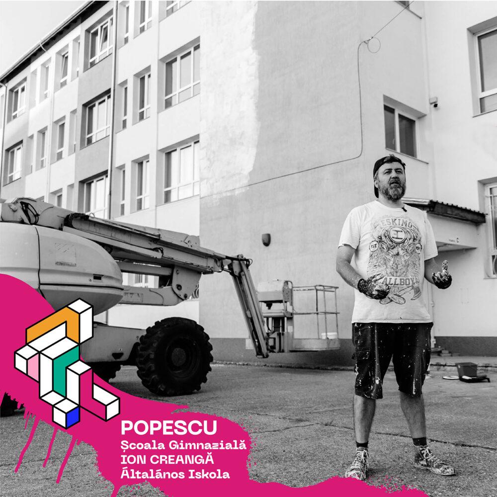 """Festivalul """"Restart"""" aduce picturile murale la Satu Mare"""