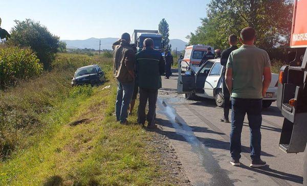 Satmarean implicat intr-un accident in Salaj (Foto)