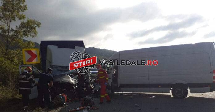 Accident grav. S-a solicitat elicopterul SMURD ! (Foto)