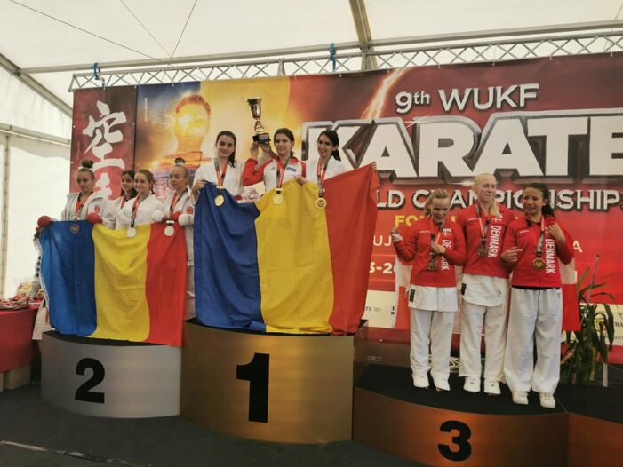 Karate: Performanta la nivel mondial ! Aur pentru Romania !