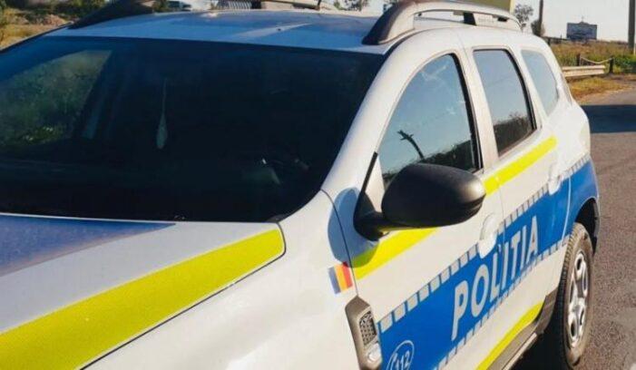 A depășit mașina Poliției pe linie continuă, dar a reușit să scape de sancțiuni
