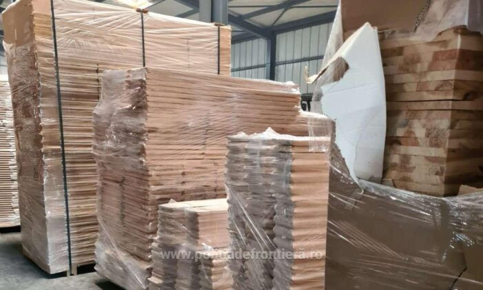 Sicrie in valoare de 200.000 de lei, introduse ilegal in tara