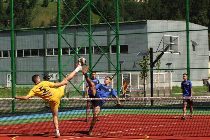 Campionatul Romaniei la tenis cu piciorul