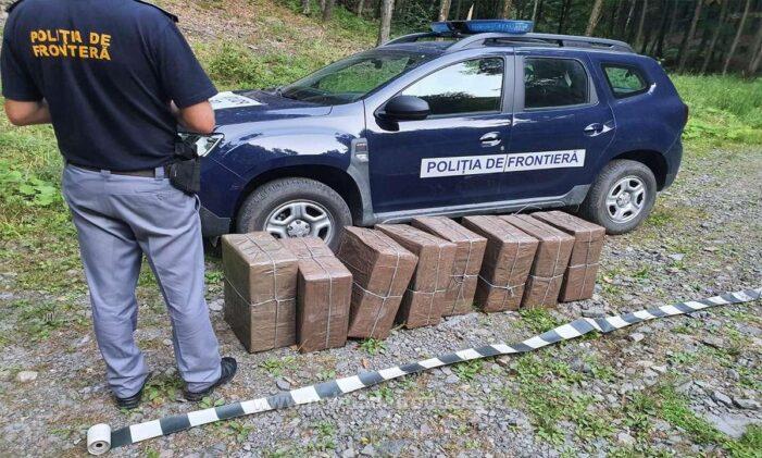 Aproape 4000 de pachete cu tigari, confiscate la granita cu Ucraina (Foto)