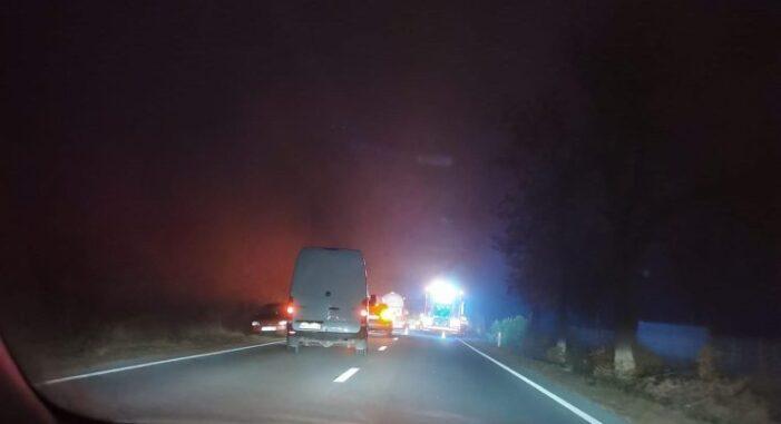 Accident pe DN Satu Mare – Baia Mare (Foto&video)