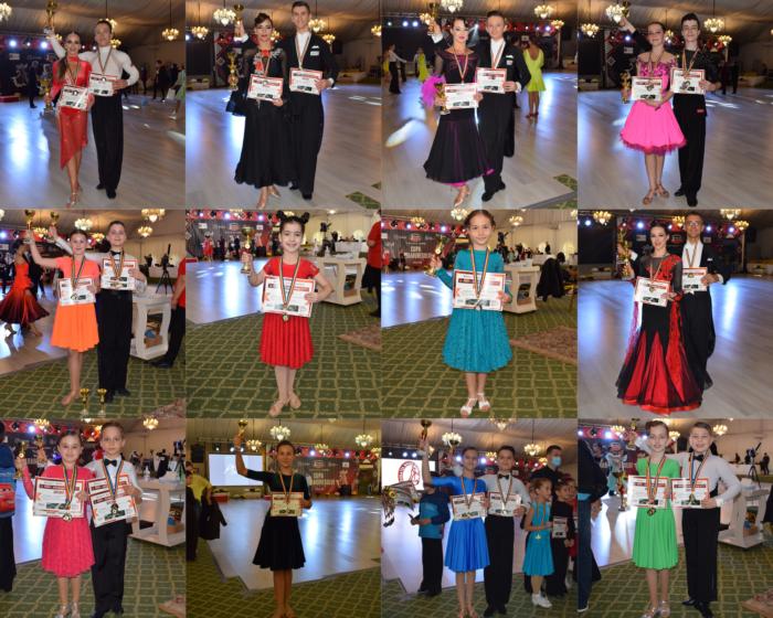 26 de medalii pentru sportivii Loga Dance School la Cupa Maramuresului (Foto)