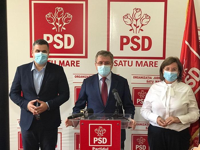 A fost validata noua conducere a PSD Satu Mare